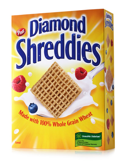 Diamond Shreddies case study