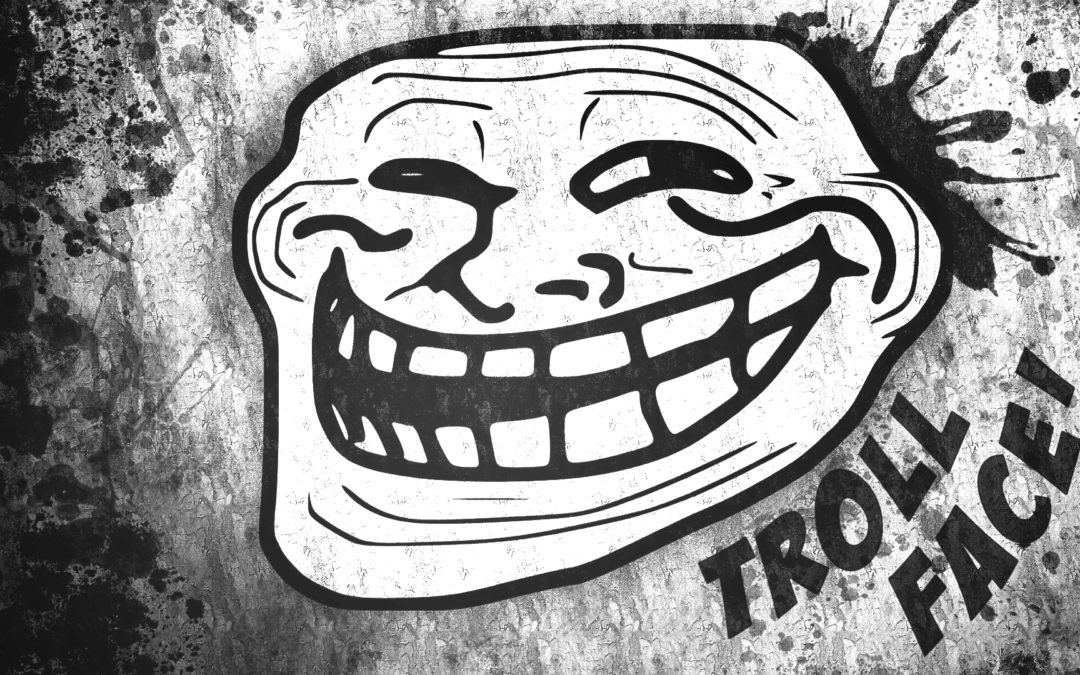 Trollface, a trademarked meme | Fameable