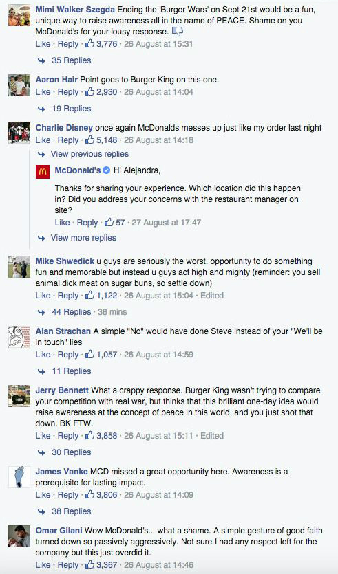 McWhopper comments