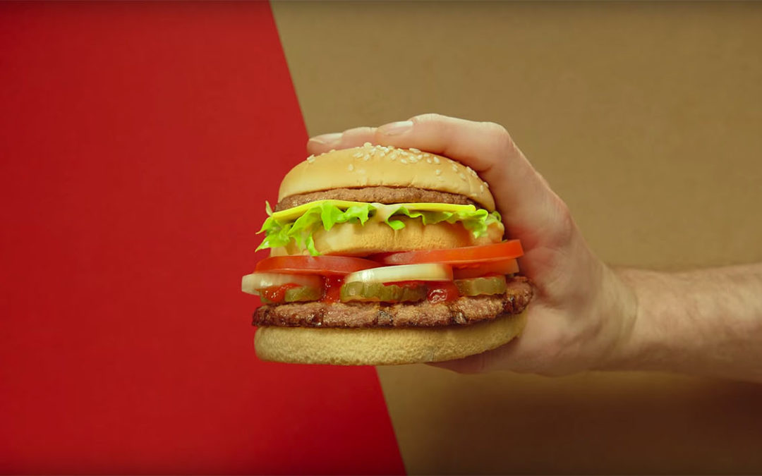 The McWhopper proposal, a co-branding between Burger King and McDonald's