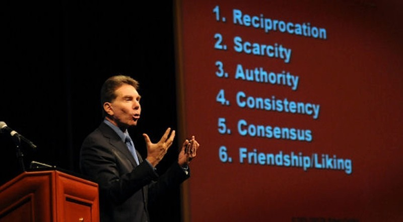 6 principles of persuasion - Robert Cialdini